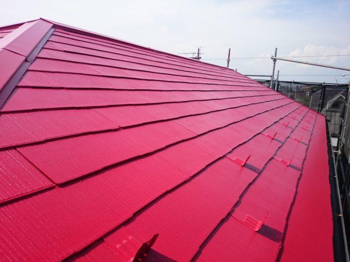 シリコン塗料屋根リフォーム