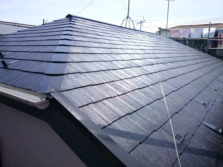 遮熱断熱塗料屋根リフォーム