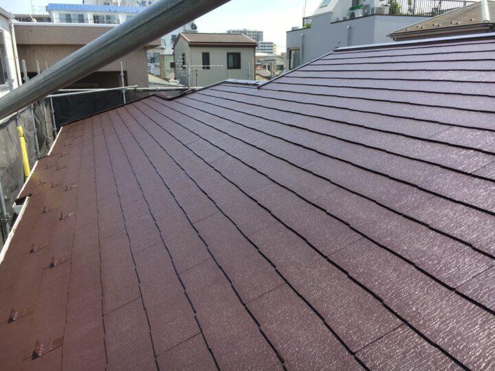 無機塗料屋根リフォーム