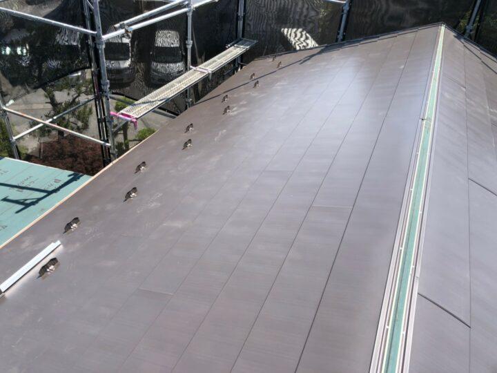 屋根材設置完了