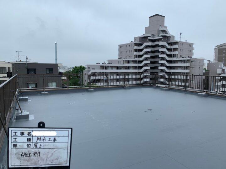 【江戸川区】 Tビル様 防水工事 施工事例
