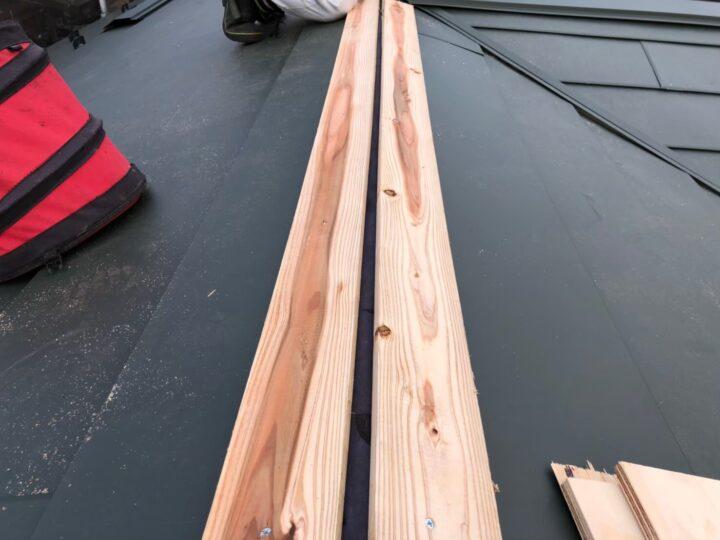 【屋根】貫板設置